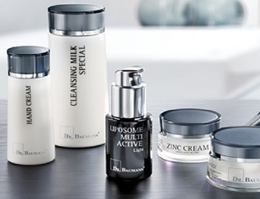 Dr. Baumann products are made with skin and body identical ingredients and vitamins to provide not only natural skin care but true skin compatibiliy. All Dr. Baumann SkinIdent products are the result of thorough research, producing skin care that is free of allergic side effects and skin damage. ><a href='http://www.dr-baumann.ca/our-products.php' target='_blanck'>Dr Baumann Products</a>